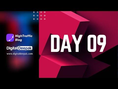HighTraffic Blog - Day 9 (Facebook Page + Wordpress Customization)