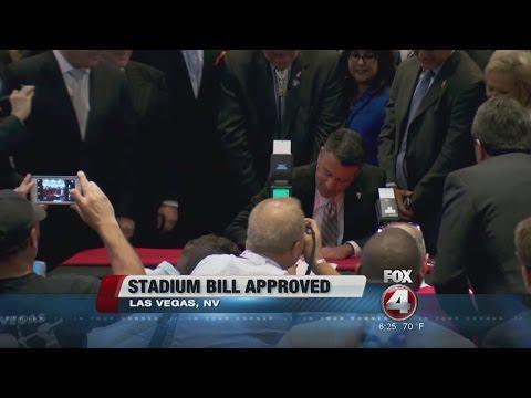 Football Stadium Bill Approved in Nevada