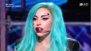 Lady Gaga The Edge of Glory & Judas - X-Factor