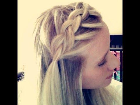 Boho braid dutch braided bangs youtube urmus Image collections