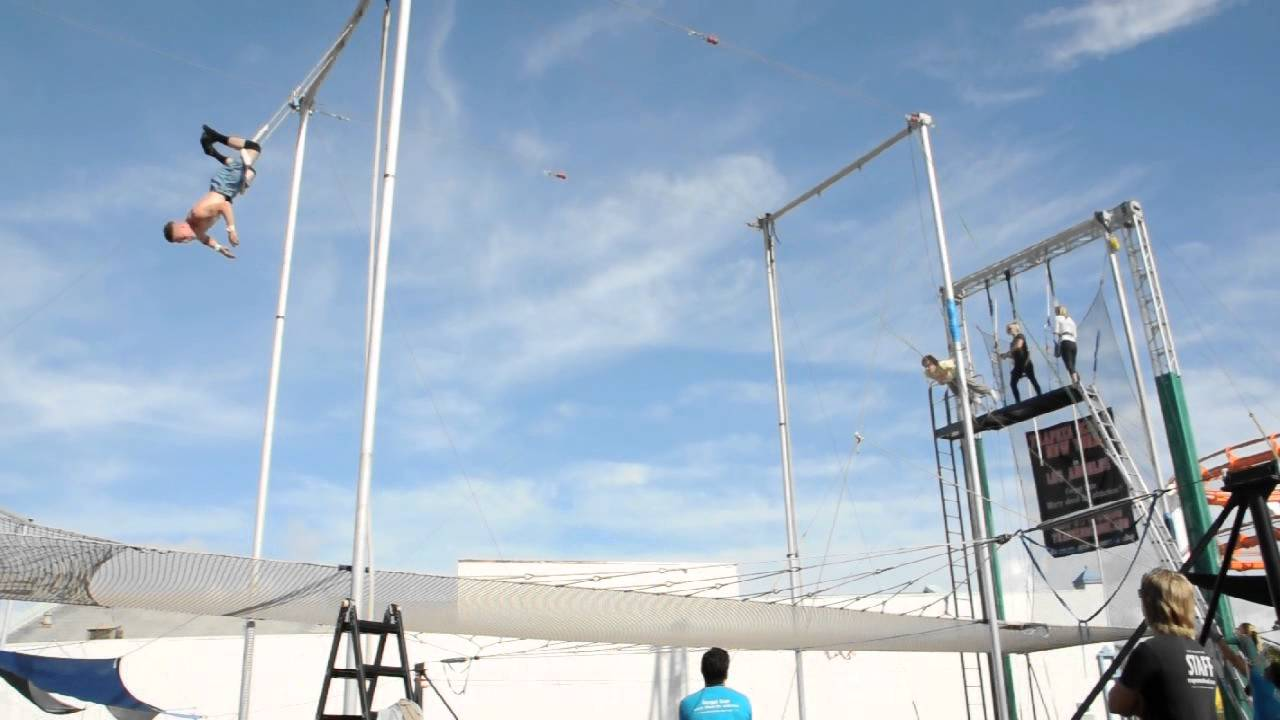 How to pump a trapeze 9