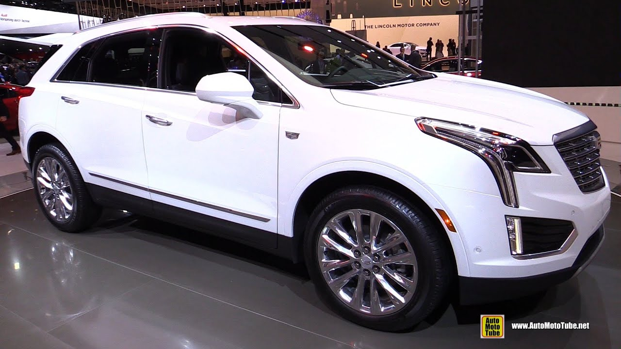 2017 Cadillac XT5 AWD - Exterior and Interior Walkaround ...