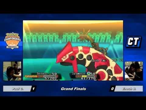 Pokemon VGC 2016 MA Regionals Grand Finals - Paul C. vs Enosh S.