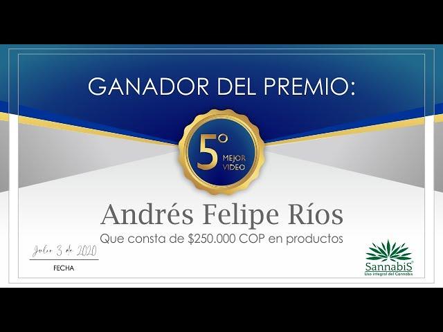 Testimonio Sannabis Andres Felipe Rios Pérez