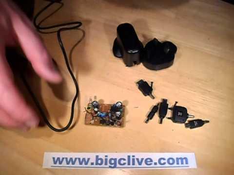 Inside a Poundland mains (240v) USB power supply.