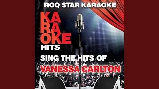 Vanessa carlton) (karaoke version ...