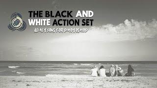 Black & White Set - 10 Azioni per il Bianco e Nero - Photoshop