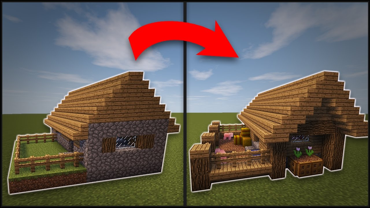 Minecraft how to remodel a village butcher 39 s shop youtube for How to redesign your house