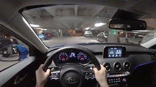 2018 Kia Stinger 2.0T AWD - POV Night Drive (Binaural Audio)
