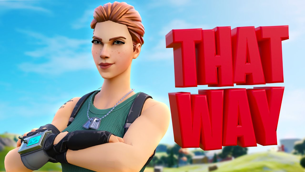 That Way - A Fortnite Montage 😈