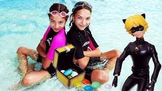 Мультик с Супер Котом - Камни дружбы - Аквапарк Карибия