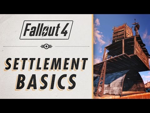 Fallout 4 - Settlement Essential Guide &  Basics
