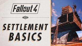 Fallout 4 - Settlement Essential Guide Basics
