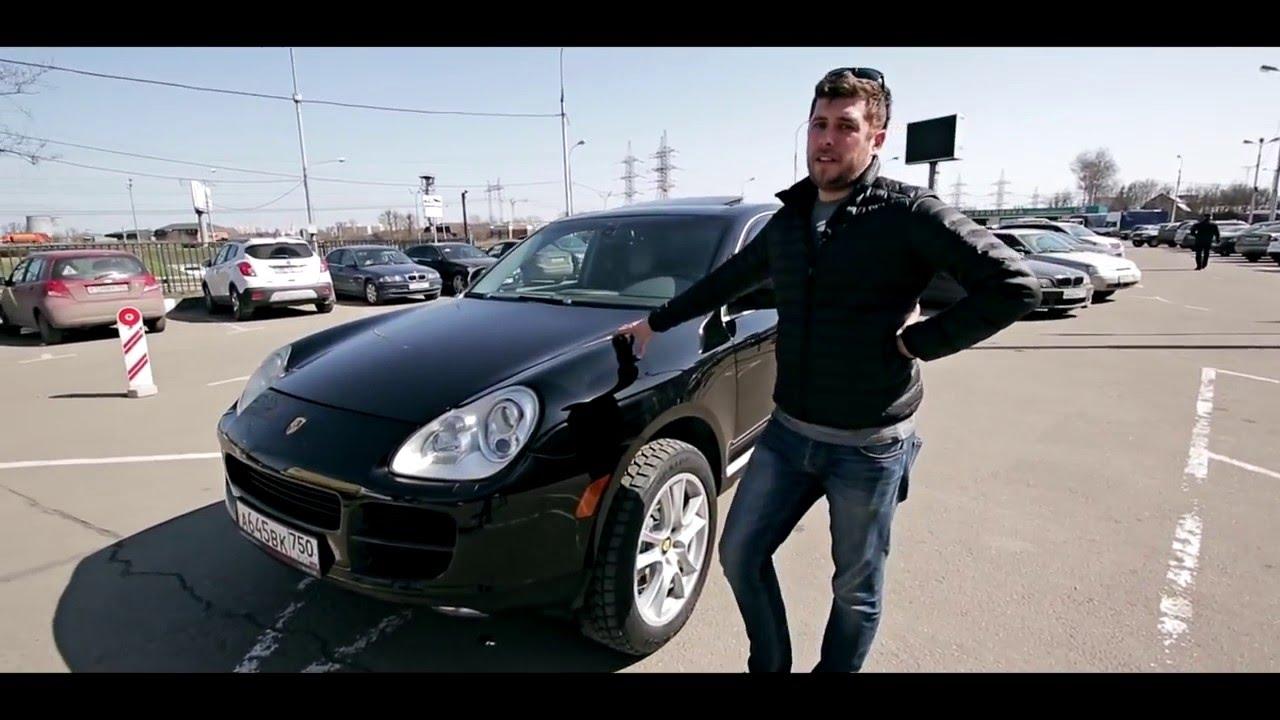 Porsche Cayenne Антон Воротников (AVTOMAN) снимает тест драйв  в Ангар Авто
