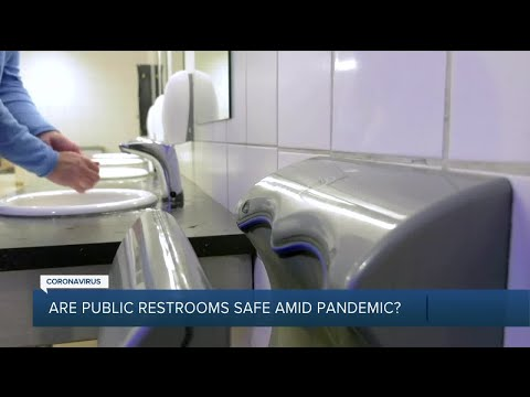 Are public restrooms safe to use amid the coronavirus pandemic?