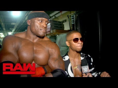 Bobby Lashley is here to collect: Raw Exclusive, Oct. 15, 2018
