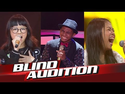 Top 10 Best Blind Audition The Voice Kids Indonesia 2017