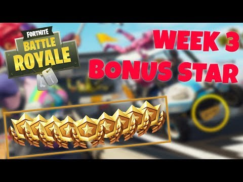 WEEK 3 BONUS STAR LOCATION - SEASON 5 (Fortnite Battle Royale)