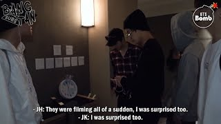 Gambar cover [ENG] 181226 [BANGTAN BOMB] Surprise camera! Please come out early - BTS (방탄소년단)