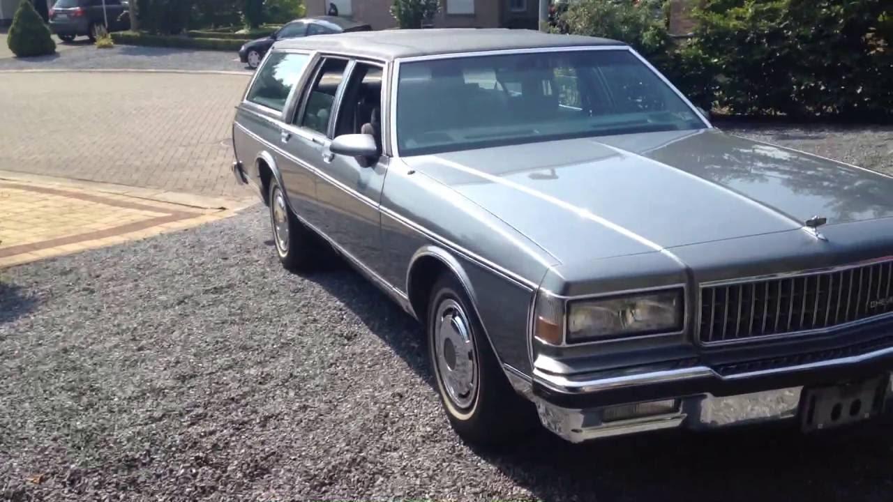 Chevrolet Caprice Classic wagon 1989 - YouTube