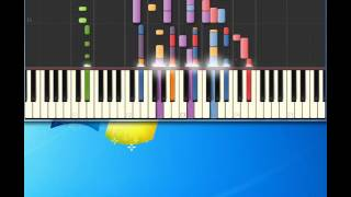 Crowded House   Fall At Your Feet [Piano tutorial by Synthesia]