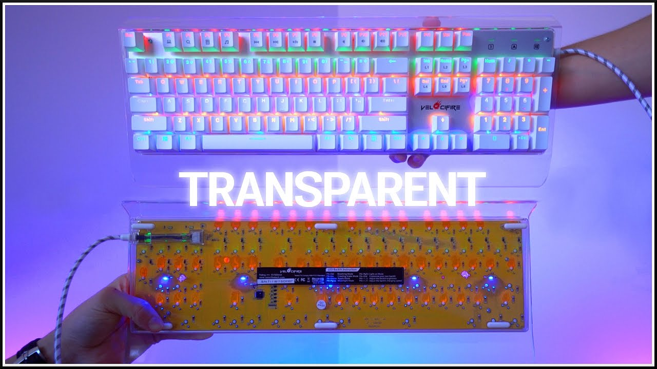 Transparent Mechanical Keyboard Youtube