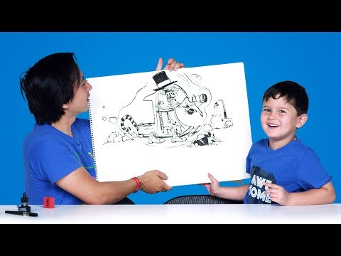 Kids Describe Cars of the Future | Kids Describe | HiHo Kids