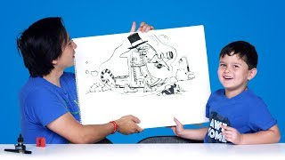 Kids Describe Cars of the Future | Kids Describe | HiHo Kids