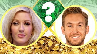 WHO'S RICHER? - Ellie Goulding or Calvin Harris? - Net Worth Revealed! (2017)