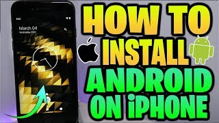 How To Install FULL Android On iPhone! Dual Boot iOS 13 & Android 10!