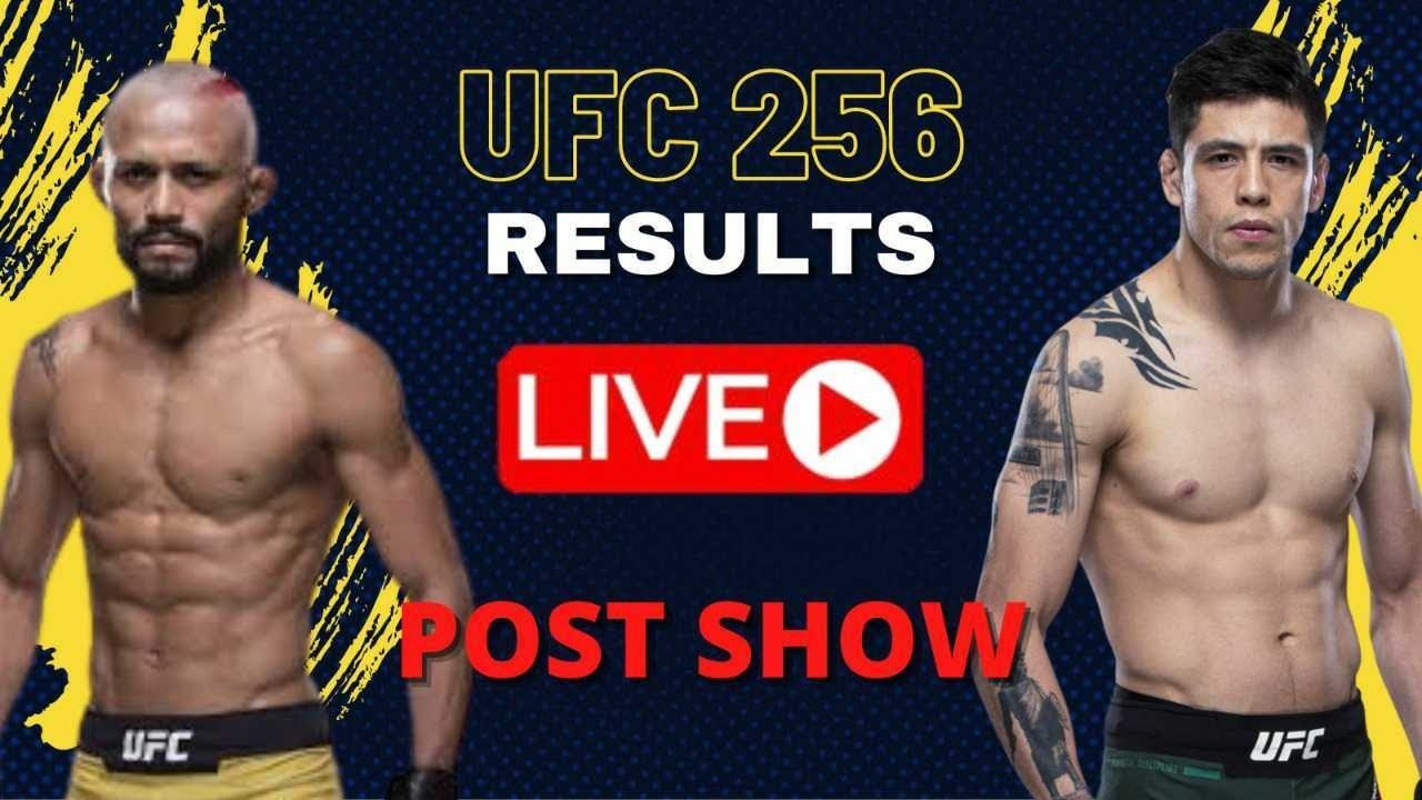 Ufc 256 Live Post Show Figueiredo Vs Moreno Main Card Results Youtube