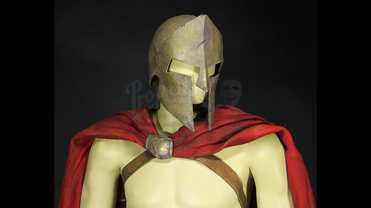 & 300 Spartans - Authentic Film Used Stelios Stunt Costume - YouTube