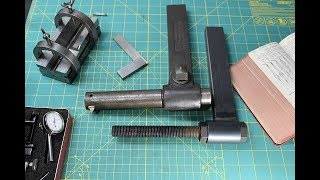 Bar holder for the Metal Shaper build Part 1