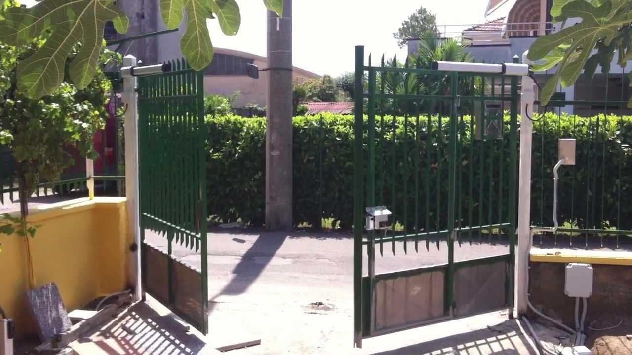 Schema Elettrico Cancello Automatico : Schema cancello automatico automazione cfp manfredini
