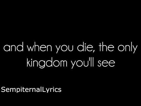 Bring Me The Horizon - The House Of Wolves (lyrics)
