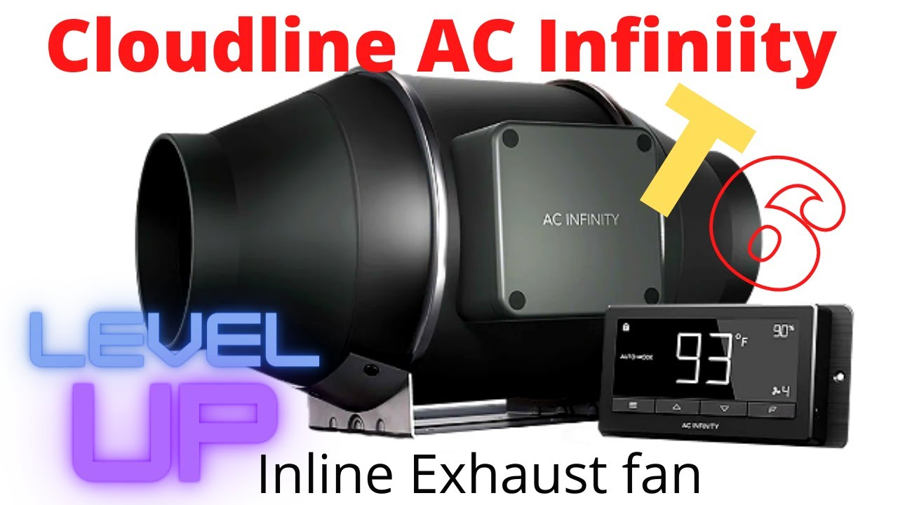 c02 laser upgraded exhaust ac infinity cloudline t6