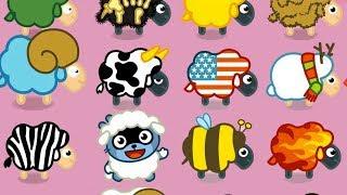 МАЛЫШ Панго и ДРУЗЬЯ СПАСИ овец от ЗЛОГО медведя и ВОЛКА Игровой мультик для детей ИГРА для малышей