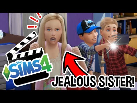 THE JEALOUS SISTER! | How To Get Famous! | The Sims 4 Ep.2
