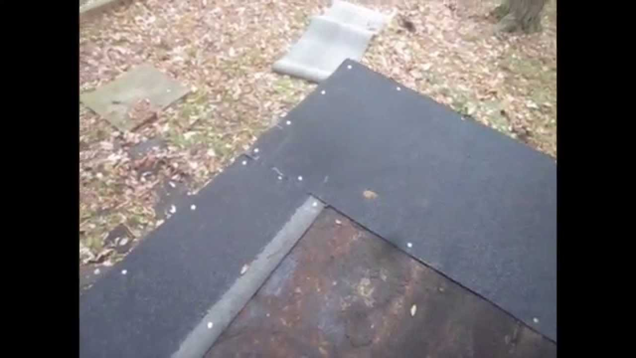 How to install reinstall flat roof residential diy youtube how to install reinstall flat roof residential diy solutioingenieria Image collections