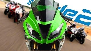 Kawasaki Ninja ZX-6R - Modifiche e sfida alle 1000cc!!! (Ride 2)