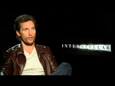 INTERSTELLAR interview with Matthew McConaughey - Redskins, Colt McCoy, RGIII