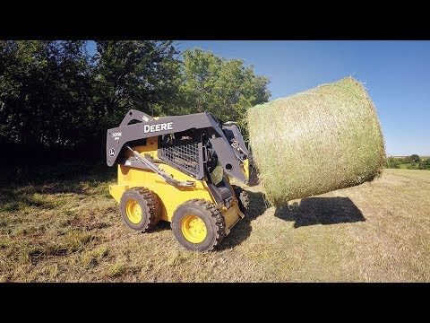 Hauling In Bales