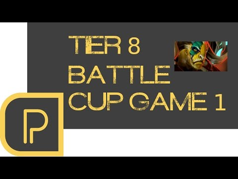 Battle cup game 1 - Elder Titan - Boston Major Week 1