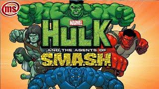 Hulk and Agent S M A S H Халк і агенти У Д А Р а Російський трейлер
