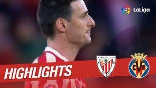 Resumen de Athletic Cub vs Villarreal CF (1-0)