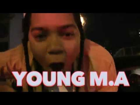 YOUNG M.A PERFORMING LIVE @ STAGE 48 NYC
