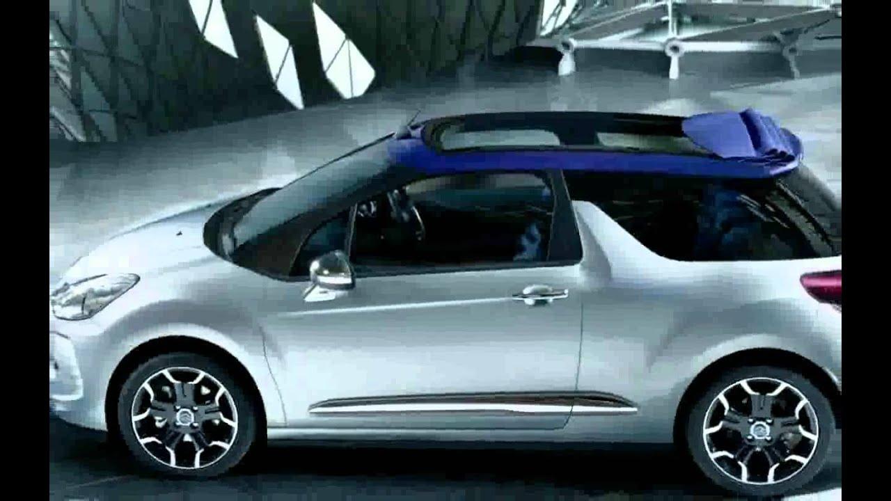 citroen ds3 cabrio convertible bluehdi 120 dsport 2014 new youtube. Black Bedroom Furniture Sets. Home Design Ideas
