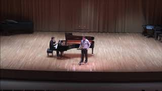 Paul Creston Concerto - Nathan Mensink and Oleksii Ivanchenko