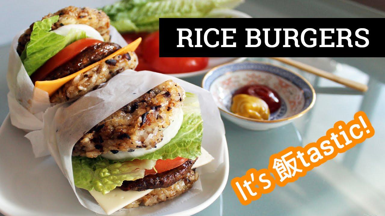 VEGAN FANTASTIC BURGER (飯tastic Burger/Rice Burger) | Mary's Test Kitchen