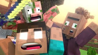 Minecraft Fight Animation